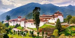 Dzong out look